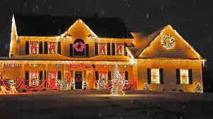 cool christmas house lighting. Outdoor Christmas Lighting Decorations Ideas For Home, Office Back Yard - YouTube Cool House L