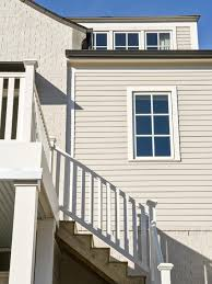 photos hgtv light gray home exterior with wood staircase hotel the designers hotel design application lamps staircase