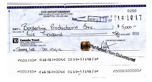 How To Write A Td Cheque In Canada