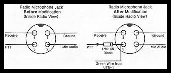 4 pin cb mic wiring diagram 4 image wiring diagram