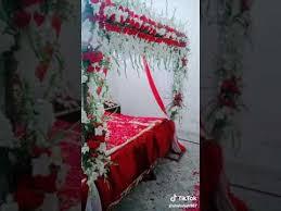room decoration 1st night wedding you