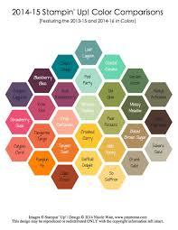 Blackberry Comparison Chart 2014 14_05 02_color Compare Stampin Up Color Color Combos