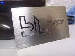 Steel Business Cards Metal Business Cards Silver Gold Black Unique Business Cards