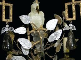 rock crystal chandelier fine 5 drops