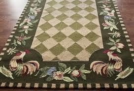 rooster rugs floor