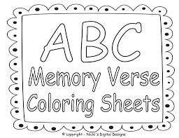 Free Bible Coloring Pages To Print Or Printable With Scriptures