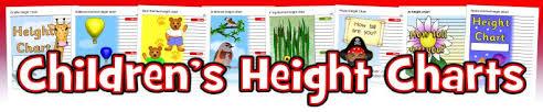 Sparklebox Height Chart Free Printable Child Height Charts Sparklebox Height