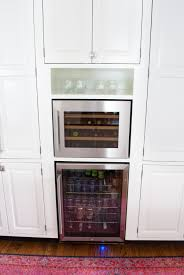 built in wine fridge. How To Add A Built In Wine Fridge And Beverage Existing Cabinetry - It\u0027s R