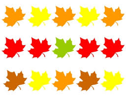 Patterns For Preschool Classy Fall Leaves Matching Pattern Practice For Preschool Kindergarten