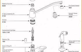 resplendent moen kitchen faucet parts diagram moen kitchen faucet parts diagram beautiful 46 beautiful moen