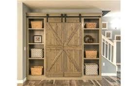narrow barn door attractive la beautiful ideas with sliding doors for closet prepare bathroom design latest