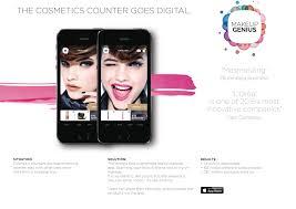l oreal make up genius virtual mirror digital mccann paris