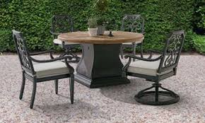 a r t architectural salvage round outdoor dining set