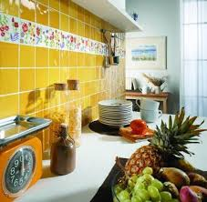kitchen tiles with fruit design. hand painted floral wall tiles for kitchen with fruit design