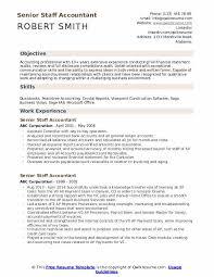 Staff Accountant Resume Samples Senior Staff Accountant Resume Samples Qwikresume