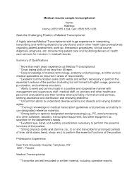 Medical Transcription Resume Assignment Experts Assignment Writers UK Assignment Writing 8