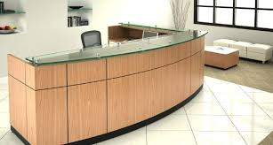 used office reception desk decor furniture with inspiration ideas