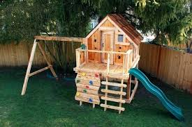 playhouse plans with swing set swing set playhouse plans build your own house game for kids