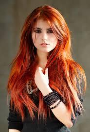 Russian red teen model