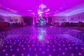 scotia discos led dancefloor and mood lights led dancefloor hire fife
