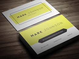 Namecard Format Free Business Card Designs Templates
