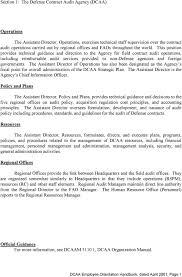 Dcaa Organization Chart Dcaa Employee Orientation Handbook Pdf Free Download