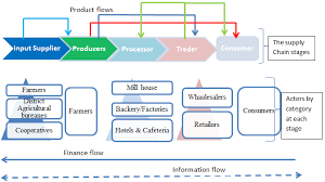 Supply Chain Flow Chart Simplified Flow Chart Of Teff In Supply And Marketing Chains