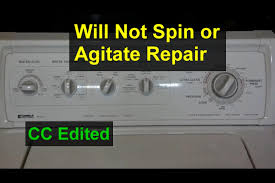 Washer Not Draining Or Spinning Washing Machine Will Not Agitate Or Spin Home Repair Series