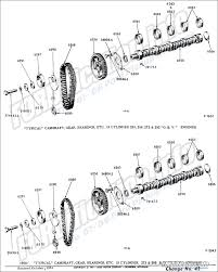 engine related schematics info the ford 8 cylinder 239 256 272 292 o h v engines