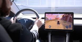 Tesla Arcade hands-on: using a Model <b>3</b> steering wheel as a <b>game</b> ...