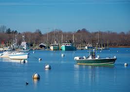 Late Season Views Of Green Harbor Boston Harbor