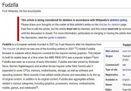 Photo Editor Wikipedia Wikipedia Editors Try To Kill Fudzilla Again