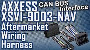 aftermarket wiring harness axxess xsvi 9003 nav interface