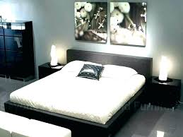brown and grey bedroom gray walls with furniture