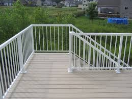 aluminum glass deck railing systems