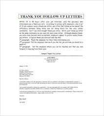 Ideas Collection Sample Thank You Letter After Interview Executive