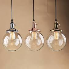 Us 3746 Permotriassischen Vintage Glaskugel Anhänger Lichter Rose Gold Anhänger Decke Lampen Moderne Hanglamp Leuchte Loft Esszimmer Lichter