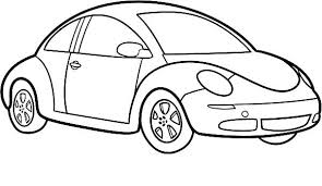 Small Picture Love Bug Car Coloring Page Coloring Coloring Pages