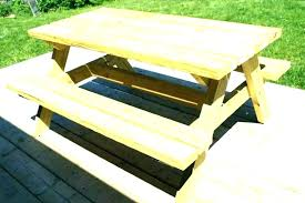 wooden round picnic table round picnic tables options 4 diameter unattached benches redwood