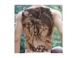 Dočasné Tetování Na Záda černá