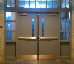 school doors. Metal School Doors A