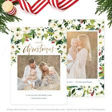 Printable Christmas Card Templates Custom Christmas Photo Card Christmas Card Template Christmas Etsy