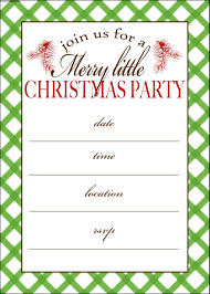 Free Christmas Party Templates Invitations Free Christmas Party Invitation Templates Printable Oxsvitation 8