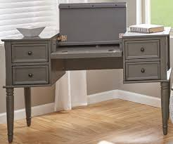 flip top desk. Avignon Grey Flip Top Desk L