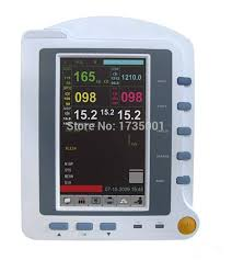 Medical Monitoring Us 469 06 6 Off Cms6500 6 Parameters Icu Patient Monitor Ecg Nipb Spo2 Pr Resp Temp Touch Screen Medical Monitoring Device In Blood