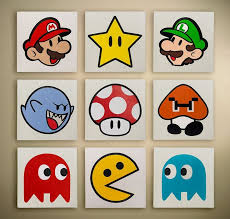 por kids wall lights lots. Great Imagery For A Kids Room, Or Game Room! Could Be Cheap Diy Por Wall Lights Lots
