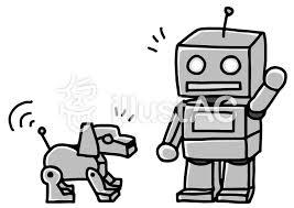 かわいいロボットイラスト No 1405617無料イラストならイラストac