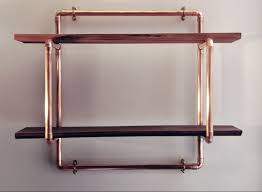 Pipe Furniture Copper Pipe Wall Sconce Candle Holder By Michael Guy Things I