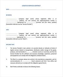 Simple Service Contract 20 Service Contract Templates Word Docs Pages Free