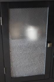 i cover clear glass cabinet doors